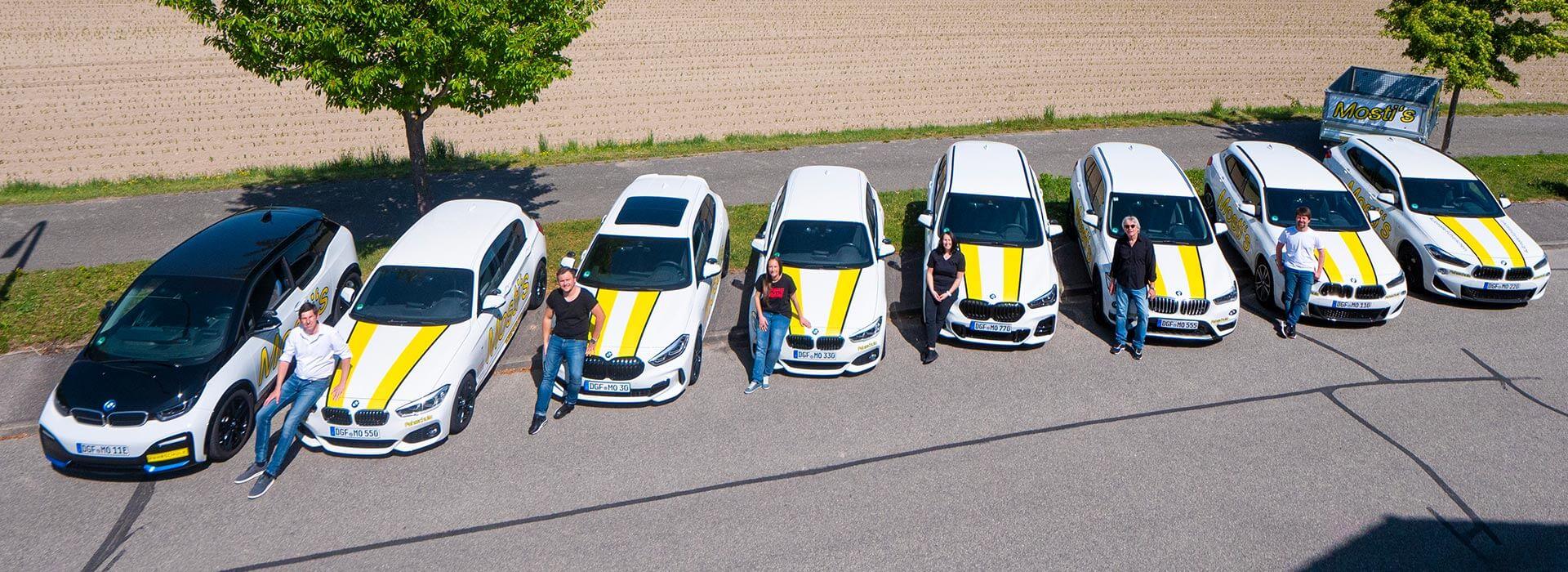 Team von Mosti's Fahrschule